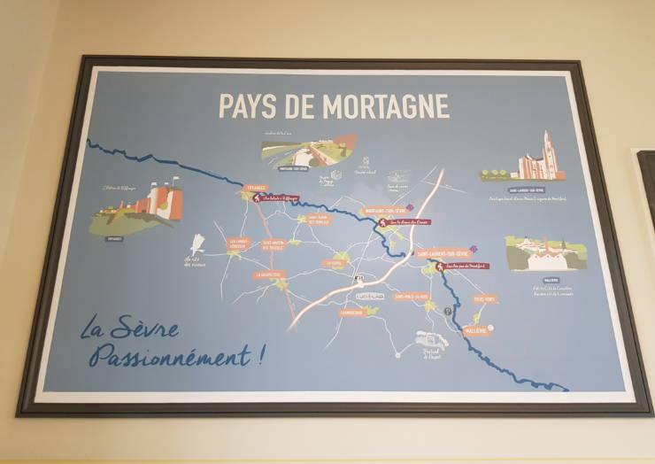 Relooking du point I de Mortagne-sur-Sèvre /la Gare