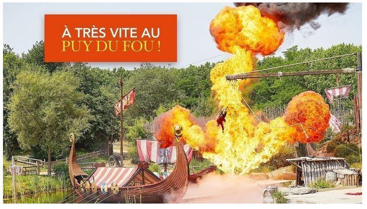 Info pétition «A très vite au Puy du Fou»