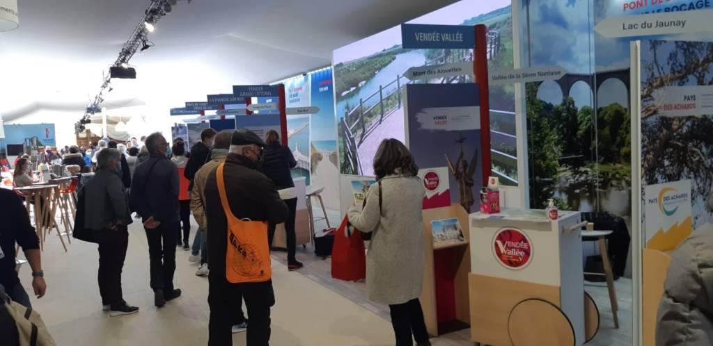 Le pavillon tourisme Vendée Globe
