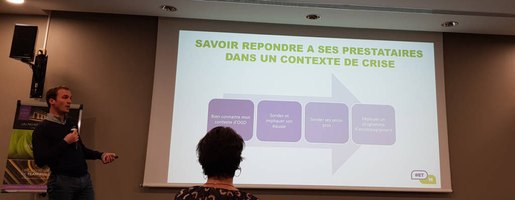 Accompagnement des prestataires