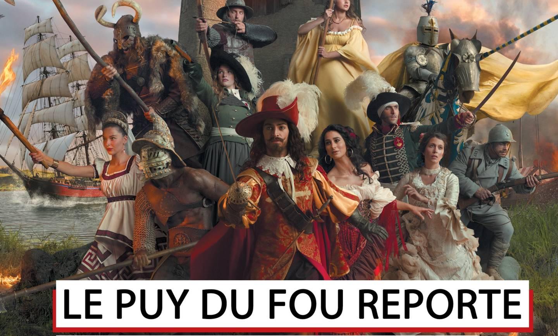 Infos Vendée Vallée et report ouverture Puy du Fou